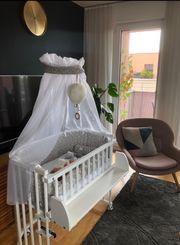 Babybay Beistellbett Babybett in weiss