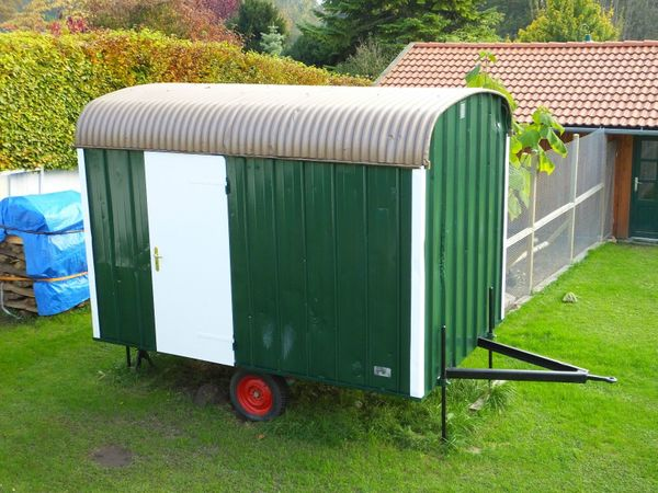 Bauwagen Anhänger Wohnwagen