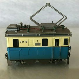 Modelleisenbahnen - FERRO SUISSE H0m Zahnradlok HGe