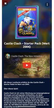 Castle Clash-Starter Pack Wert 200EUR