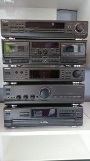 Technics Stereoanlage Boxen