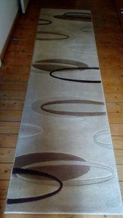 Teppich Läufer - Schurwolle 80x300