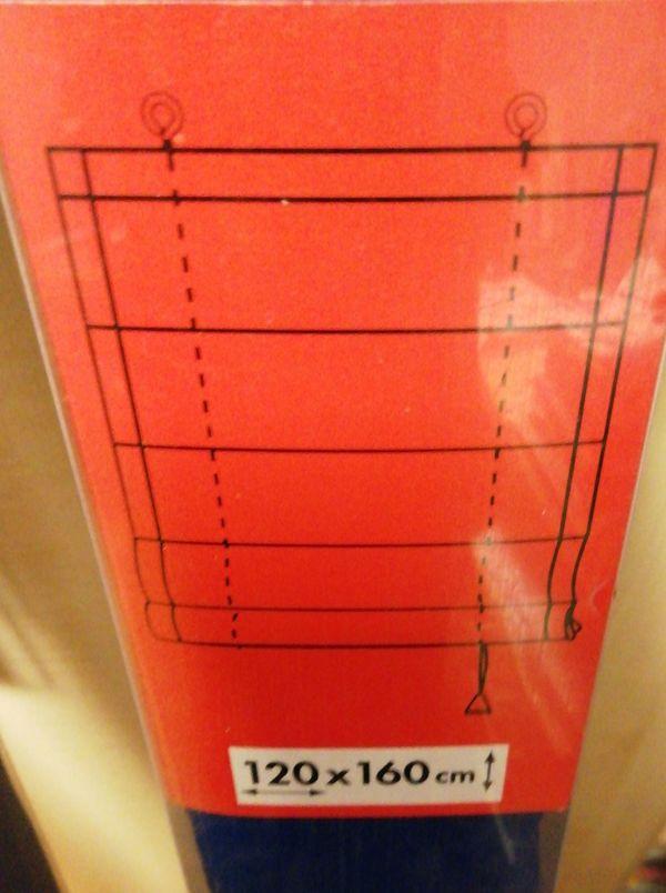 Stoffjalousie für Fenster Innen 120
