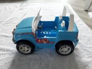 Blauer Barbie Jeep