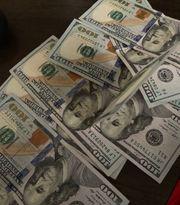 Hundred Dollars Bills Prop Fake