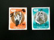 Briefmarken Ungarn Olympia 1972