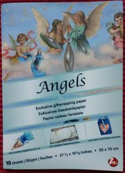 Angels - exklusives Geschenkpapier