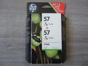 Druckerpatronen HP 57 - Doppelpack - Original -