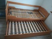 Bett 90x200 cm ausziehbares Bett