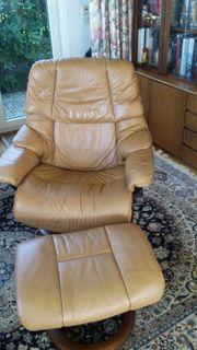 2 Komfortable Stressless Leder Relax