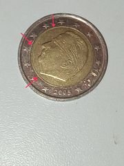 2EUR fehlprägungen Belgien 2005