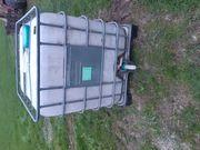 Wassertank 1000l für Regenwasser