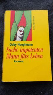 Gaby Hauptmann Suche impotenten Mann