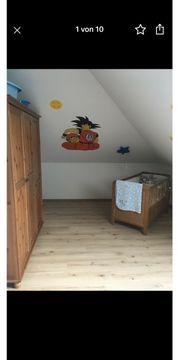 Leksvik Kinderzimmer mit Schrank Bett