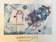 Abstraktes Bild Kunstdruck von V