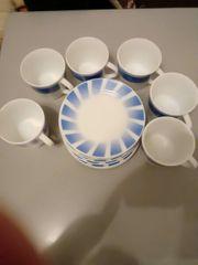 Kaffee Tasse mit Untertasse