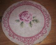 Verkaufe runder teppich