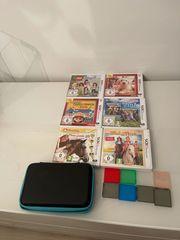Nintendo 2DS Tasche und spiele