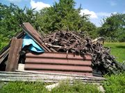Brennholz ca 10 Jahre alt