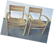 Herlag Holz und Stühle 50-60er