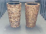 2 x Blumenvase Blumentopf sehr