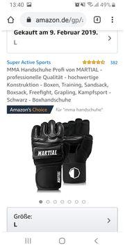 Boxsack und Mma handschuhe