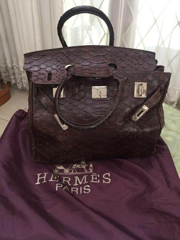 Damen Tasche Bag Hermès Braun 35 In Handtasche Sac Birkin 4jARL5