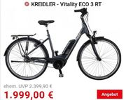 E-Bike Citybike Kreidler Vitality Eco