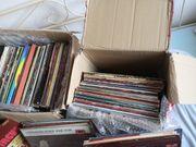 Schallplatten Sammlung LP sVInyl über