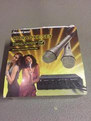 Karaoke Set Silver Crest