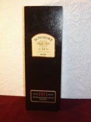 Whisky BOWMORE 1971 34yo SHERRY