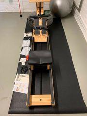 Waterrower Rudergerät Esche mit S4-Monitor