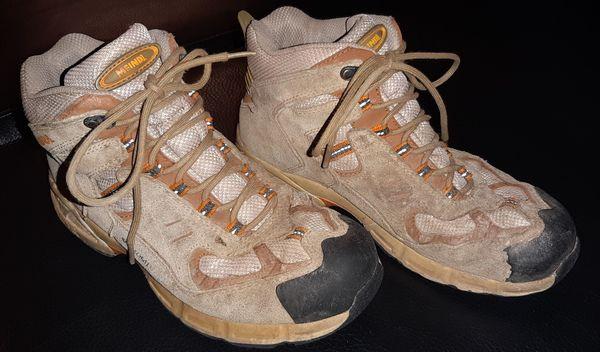 MEINDL KINDER WANDERSCHUHE Gr. 34 Nässeschutz Schuhe EUR