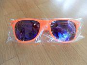Sonnenbrille orange - Werbeartikel Fa kuehlhaus