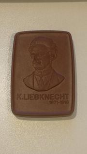 Meissen Medaille Karl Liebknecht 1871-1919