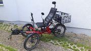Verkaufe HP-Liegefahrrad E-Bike