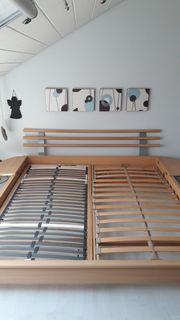 Doppelbett inkl 2 Lattenroste