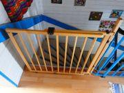 Treppengitter Holz massiv längenverstellbar