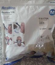 Schlafapnoe Schlafmaske ResMed Quattro FX