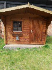Gartenhaus Holz 4cm