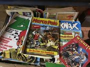 2 große Kisten mit Comics