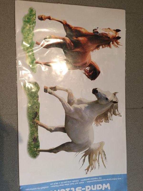 Pferde Wandsticker NEU