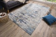 NEU Teppich Abstrakt 240x160cm Blau