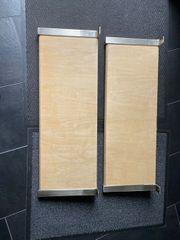 2 Holz Regalboden mit Halterung