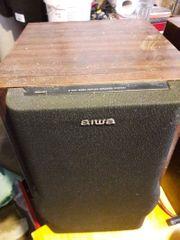 Lautsprecherboxen AIWA ein Paar