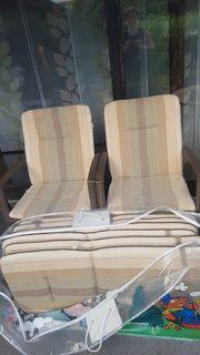 Kettler 8 Stück Sitzauflagen Polsterauflagen