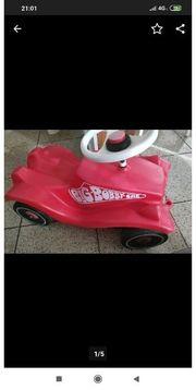 Bobby Car rot mit Flüsterreifen