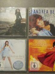 verschiedene Andrea Berg CDs