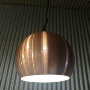 LED Pendelleuchte Durchmesser150 mm bronze
