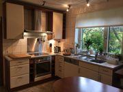 Küche Einbauküche ALNO Echtholzküche mit